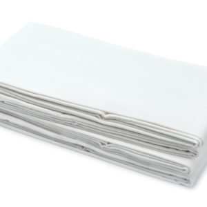 Plain White Bed Sheet