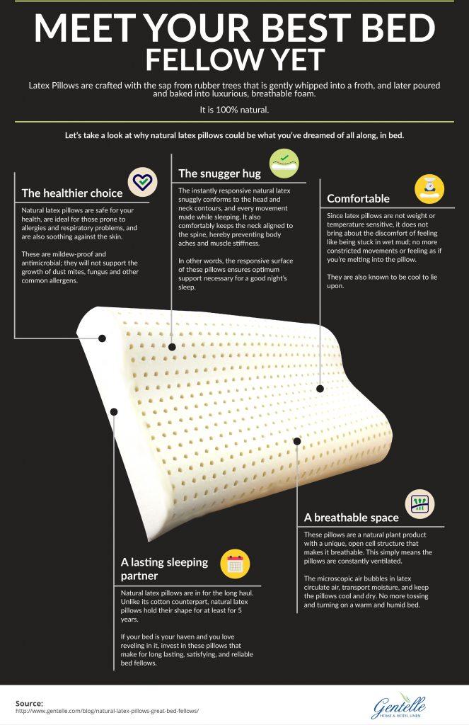 Natural Latex Pillow - Meet Your Best Bed Fellow Yet